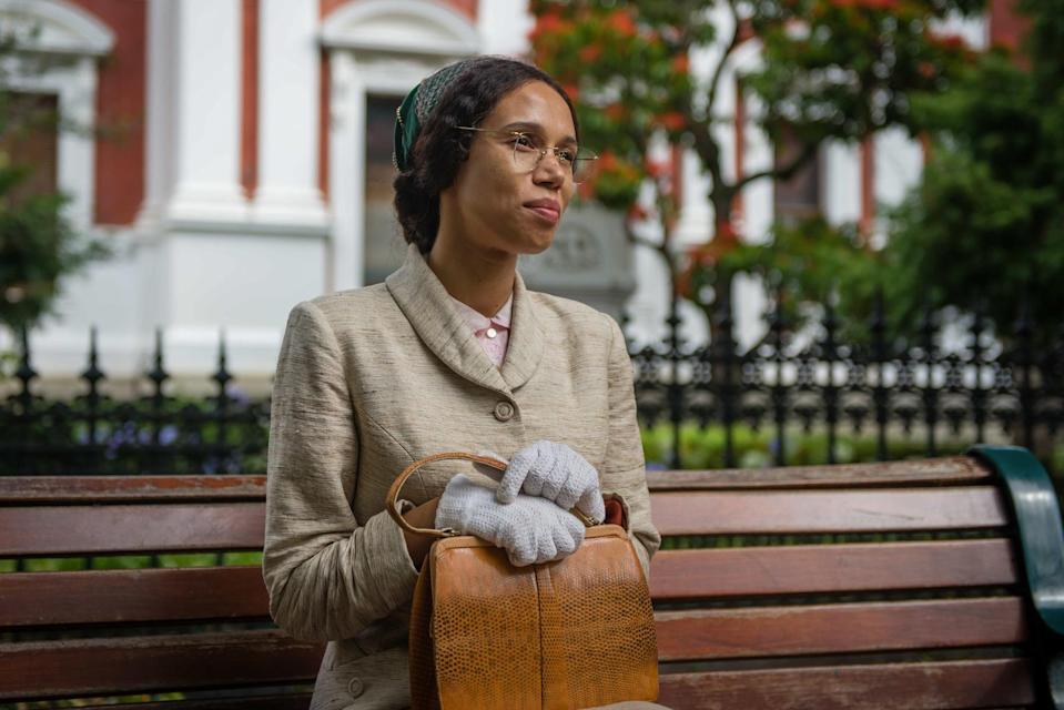 Vinette Robinson as Rosa Parks in Doctor Who: Rosa (BBC)