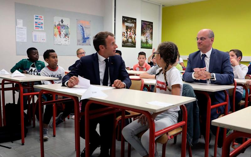 France is lagging behind EU neighbours in foreign language teaching rankings - AFP pool