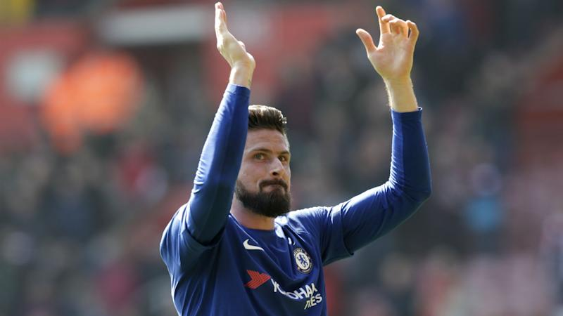 Conte relishing fully-fit Giroud in Chelsea battle with Morata