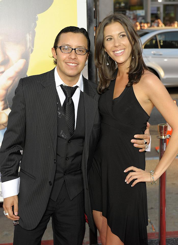 """<a href=""""http://movies.yahoo.com/movie/contributor/1804511844"""">Efren Ramirez</a> and guest at the Los Angeles premiere of <a href=""""http://movies.yahoo.com/movie/1810025224/info"""">Observe and Report</a> - 04/06/2009"""