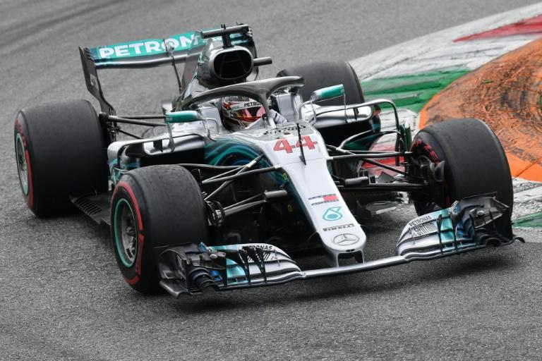 Lewis Hamilton carefully managed his tyres to win for the fifth time at Monza
