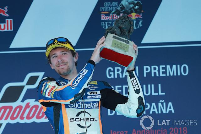 """Philipp Ottl 1 victoria con KTM <span class=""""copyright"""">Gold and Goose / Motorsport Images</span>"""