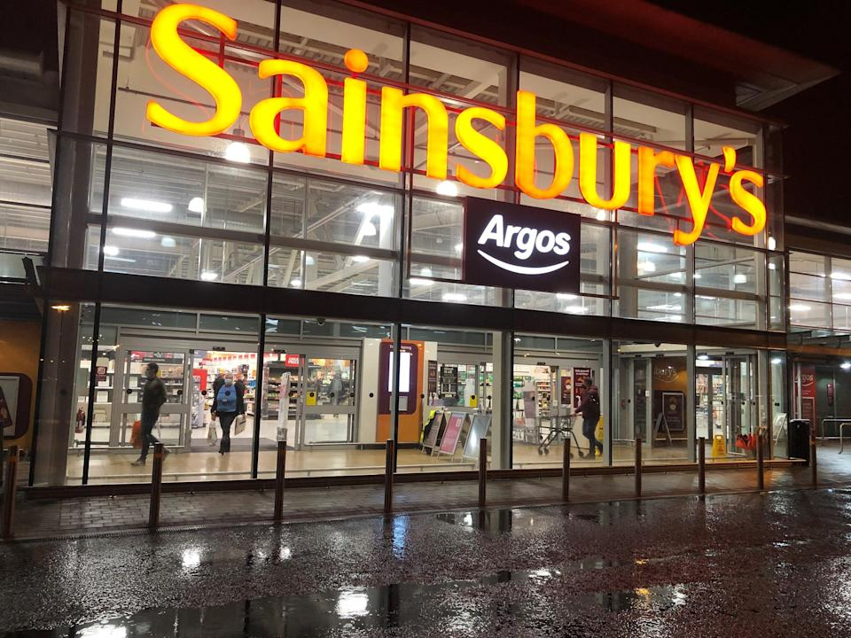 Sainsbury's products (PA Wire)