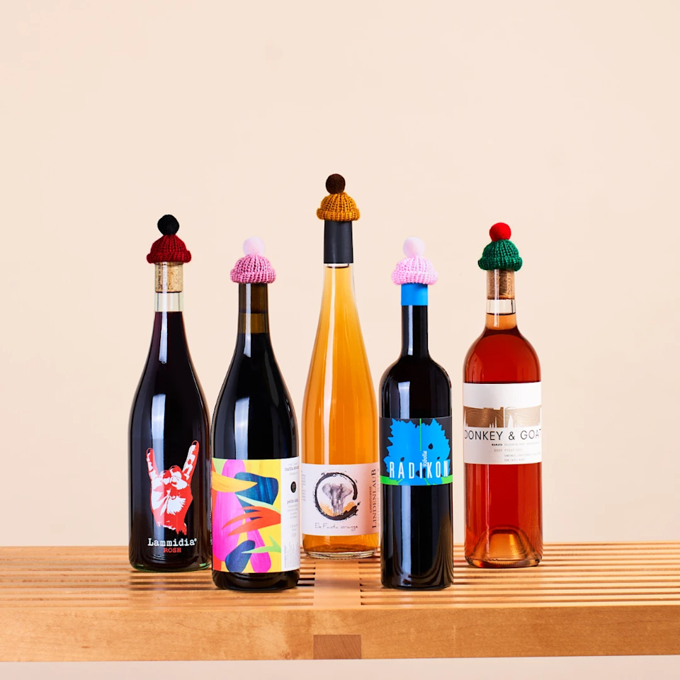 """<h2>Mysa Natural Wine Subscription</h2><br>Toast your mom with a monthly subscription of the finest natural wines. You can choose from 3, 6, or 12 bottles delivered monthly, bi-monthly, or quarterly.<br><br><strong>Mysa Natural Wine</strong> Natural Wine Club (3-Bottles), $, available at <a href=""""https://go.skimresources.com/?id=30283X879131&url=https%3A%2F%2Fmysa.wine%2Fproducts%2Fnatural-wine-club-subscription"""" rel=""""nofollow noopener"""" target=""""_blank"""" data-ylk=""""slk:Mysa Natural Wine"""" class=""""link rapid-noclick-resp"""">Mysa Natural Wine</a>"""