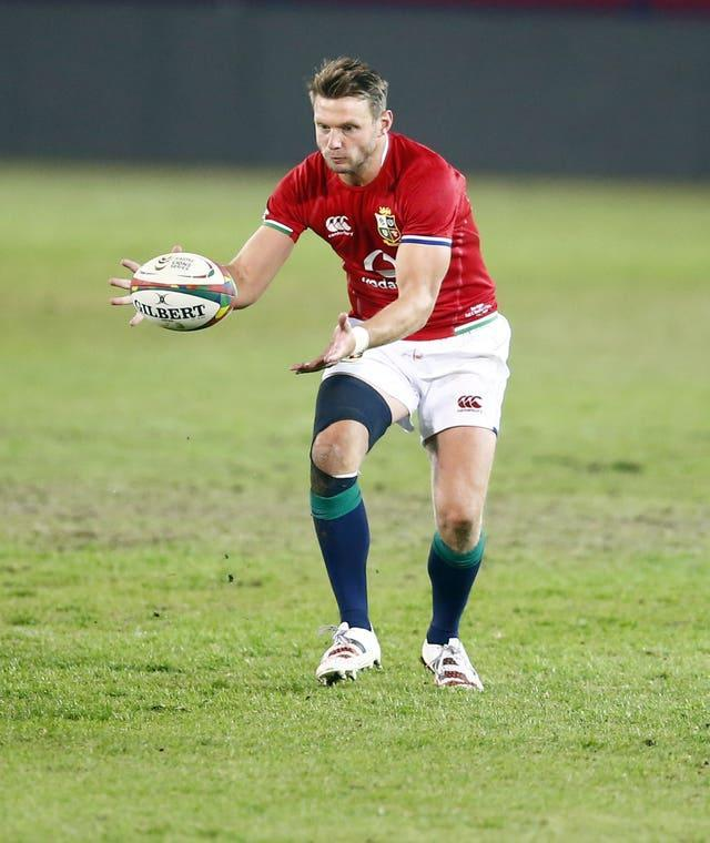 Dan Biggar (pictured) links up with Conor Murray at half-back