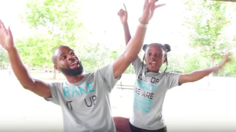 Dad And Daughter Turn Hip Hop Song Into Back-To-School Anthem