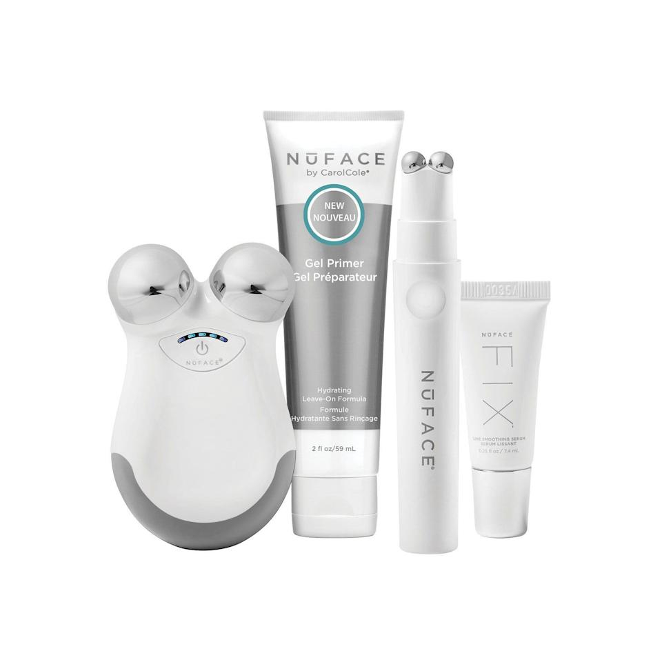 """<p><strong>NUFACE</strong></p><p>nordstrom.com</p><p><strong>$209.00</strong></p><p><a href=""""https://go.redirectingat.com?id=74968X1596630&url=https%3A%2F%2Fwww.nordstrom.com%2Fs%2Fnuface-the-petite-facial-kit%2F3732269&sref=https%3A%2F%2Fwww.elle.com%2Fbeauty%2Fg36944650%2Fnorstrom-anniversary-beauty-sale-2021%2F"""" rel=""""nofollow noopener"""" target=""""_blank"""" data-ylk=""""slk:Shop Now"""" class=""""link rapid-noclick-resp"""">Shop Now</a></p><p>If you work out your body, give your face the same treatment. After just a few uses, watch your cheekbones and jawline emerge from your face like they just stopped hibernating.</p>"""