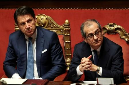 Moderate leaders try to protect Italy - from their own government