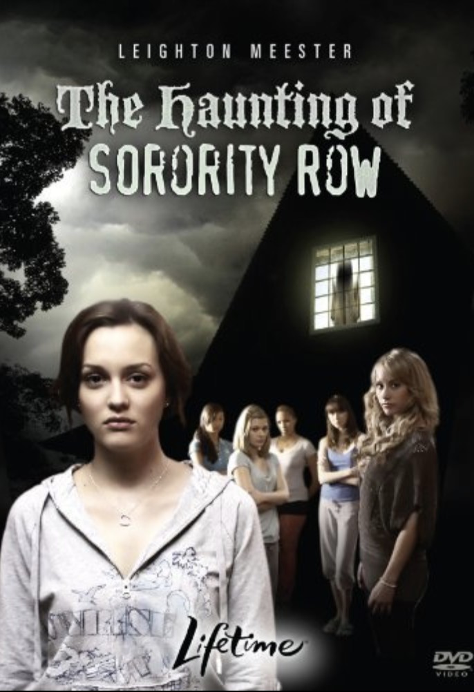 """<p><em>Gossip Girl</em> star Leighton Meester helms this spooky thriller about a college girl who pledges a sorority but soon becomes enveloped in a mystery: One of the sorority sisters had mysteriously disappeared the previous year. Just look at that movie cover, people. Are you not terrified? </p> <p><a href=""""https://www.amazon.com/Haunting-Sorority-Row-Leighton-Meester/dp/B07YR66YFY/ref=sr_1_1?dchild=1&keywords=The+Haunting+of+Sorority+Row&qid=1595443944&sr=8-1"""" rel=""""nofollow noopener"""" target=""""_blank"""" data-ylk=""""slk:Stream on Amazon Prime Video"""" class=""""link rapid-noclick-resp""""><em>Stream on Amazon Prime Video</em></a></p>"""