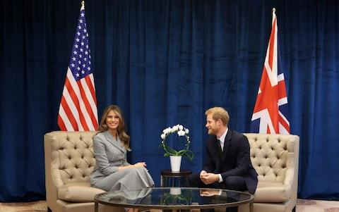 The meeting took place before the official planned opening of the Invictus Games - Credit: Getty