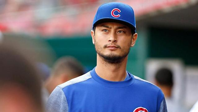 Yu Darvish couldn't make it through the fifth inning of his spring start Tuesday afternoon, leaving early with an apparent injury.