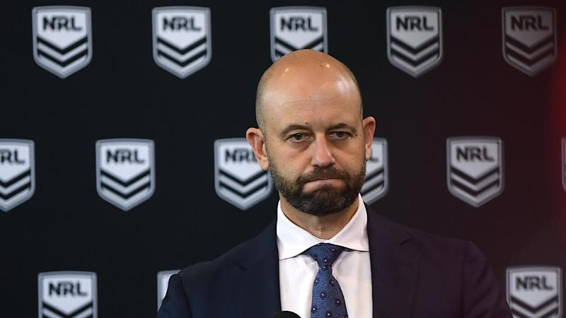 The NRL has suspended competition
