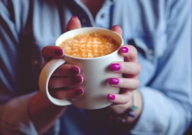 You've been holding your coffee wrong