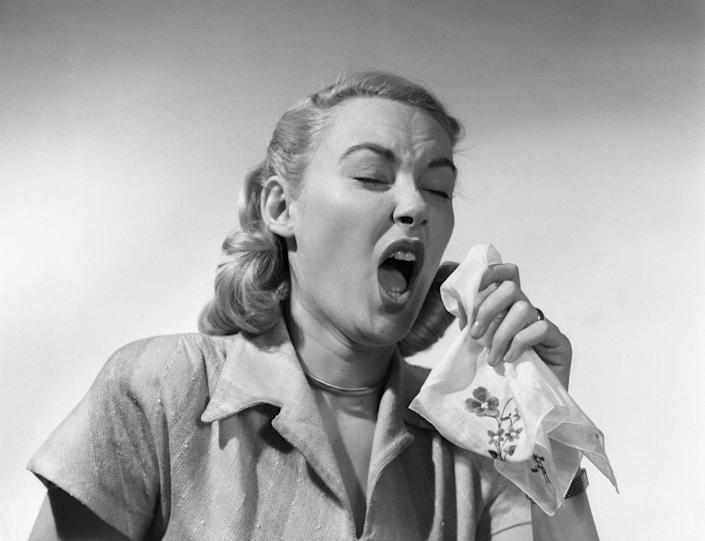 """<p><a href=""""https://www.countryliving.com/life/news/a46410/flu-season-2018-deadly-outbreak/"""" rel=""""nofollow noopener"""" target=""""_blank"""" data-ylk=""""slk:This year's flu season is brutal"""" class=""""link rapid-noclick-resp"""">This year's flu season is brutal</a> — make sure you're doing what you can to avoid spreading germs.</p>"""