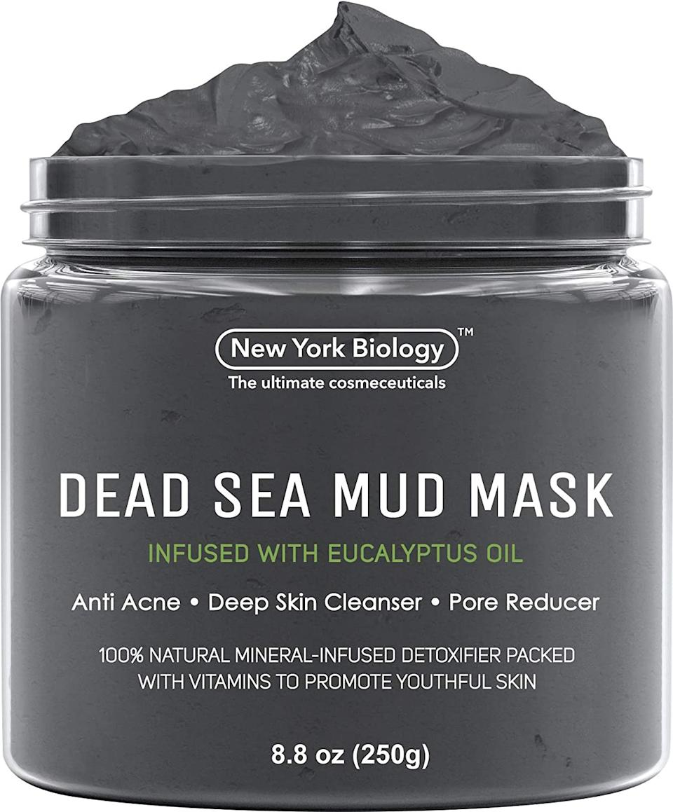 "<h3>New York Biology Dead Sea Mud Mask</h3><br>This top-rated pore-shrinking mask went from 0 (ie, totally unranked) to an impressive <em>260</em> in a matter of hours. (Before you scoff, remember that this out of every single beauty product on Amazon.) Over 1,000 reviewers sing the praises of the elixir's benefit, citing noticeably smaller pores and blemish reduction.<br><br><em>*August 2020 Mover and Shaker</em><br><br><strong>New York Biology</strong> Dead Sea Mud Mask, $, available at <a href=""https://www.amazon.com/Dead-Sea-Mask-Infused-Eucalyptus/dp/B07N1RK5D2/ref=zg_bsms_beauty_3"" rel=""nofollow noopener"" target=""_blank"" data-ylk=""slk:Amazon"" class=""link rapid-noclick-resp"">Amazon</a>"