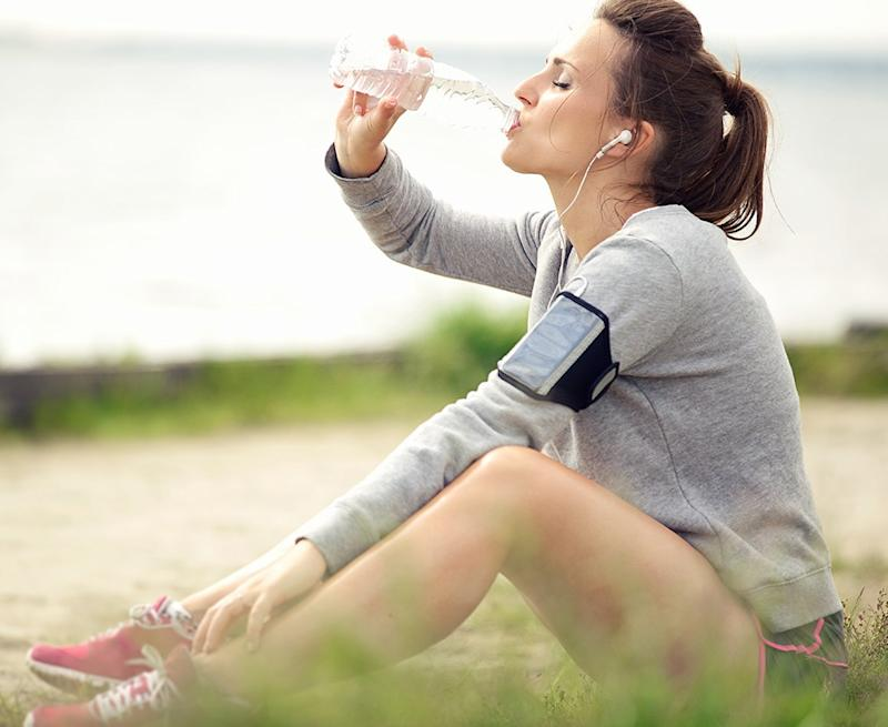 how to lose belly fat - water