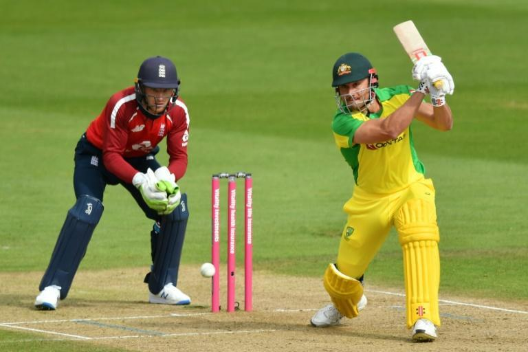 All round effort: Australia's Marcus Stoinis (right)