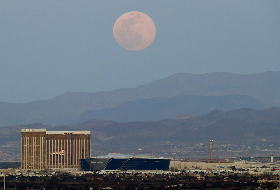 Supermoon nevada