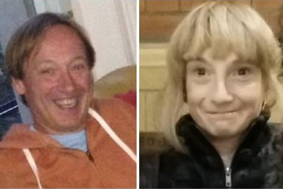 Clinton Ashmore (L) and Sharon Pickles (R) were named by Metropolitan Police (Metropolitan Police)