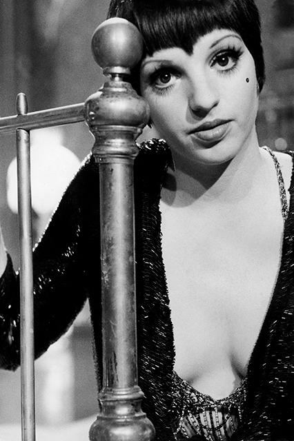 """<strong><h2><em>Cabaret (1972)</em></h2></strong><br>Nearly fifty years ago, <strike>Lucille Two</strike> Liza Minnelli was a bona fide sex symbol, playing Sally Bowles, an American libertine in Weimar Germany. Be inspired to live your life in glittery robes, bowler hats, and visible lingerie, and — maybe best of all — Sally's sequin faux beauty mark.<span class=""""copyright"""">Photo: Courtesy of Warner Bros.</span>"""