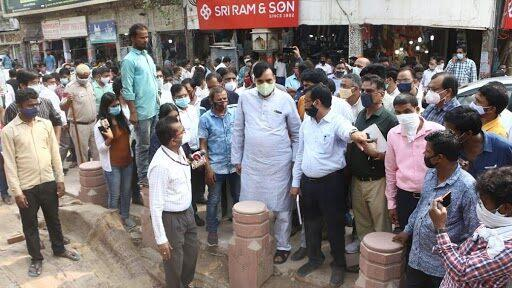 Gopal Rai, Delhi Environment Minister, Makes Surprise Inspection of Construction Work at Chandni Chowk, No Violations Found