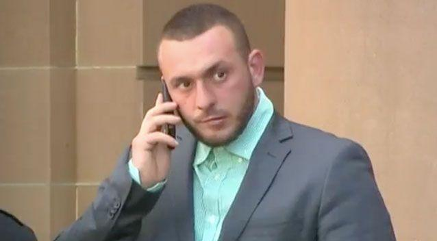 Diego Carbone was found guilty of murder at the NSW Supreme Court. Source: 7 News