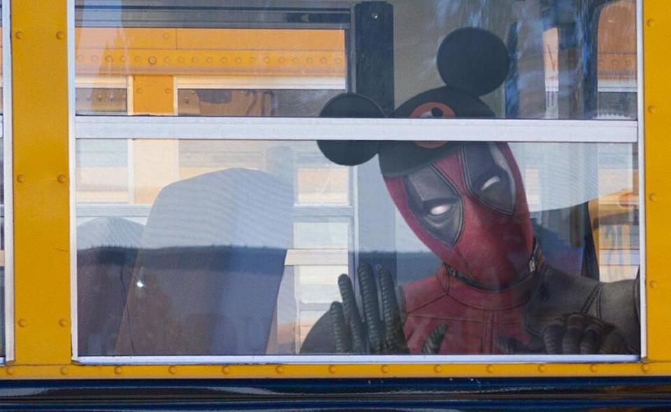 Ryan Reynolds tweets about Deadpool's arrival at Disney, in the wake of the company's takeover of 21st Century Fox (Credit: Twitter/Ryan Reynolds)