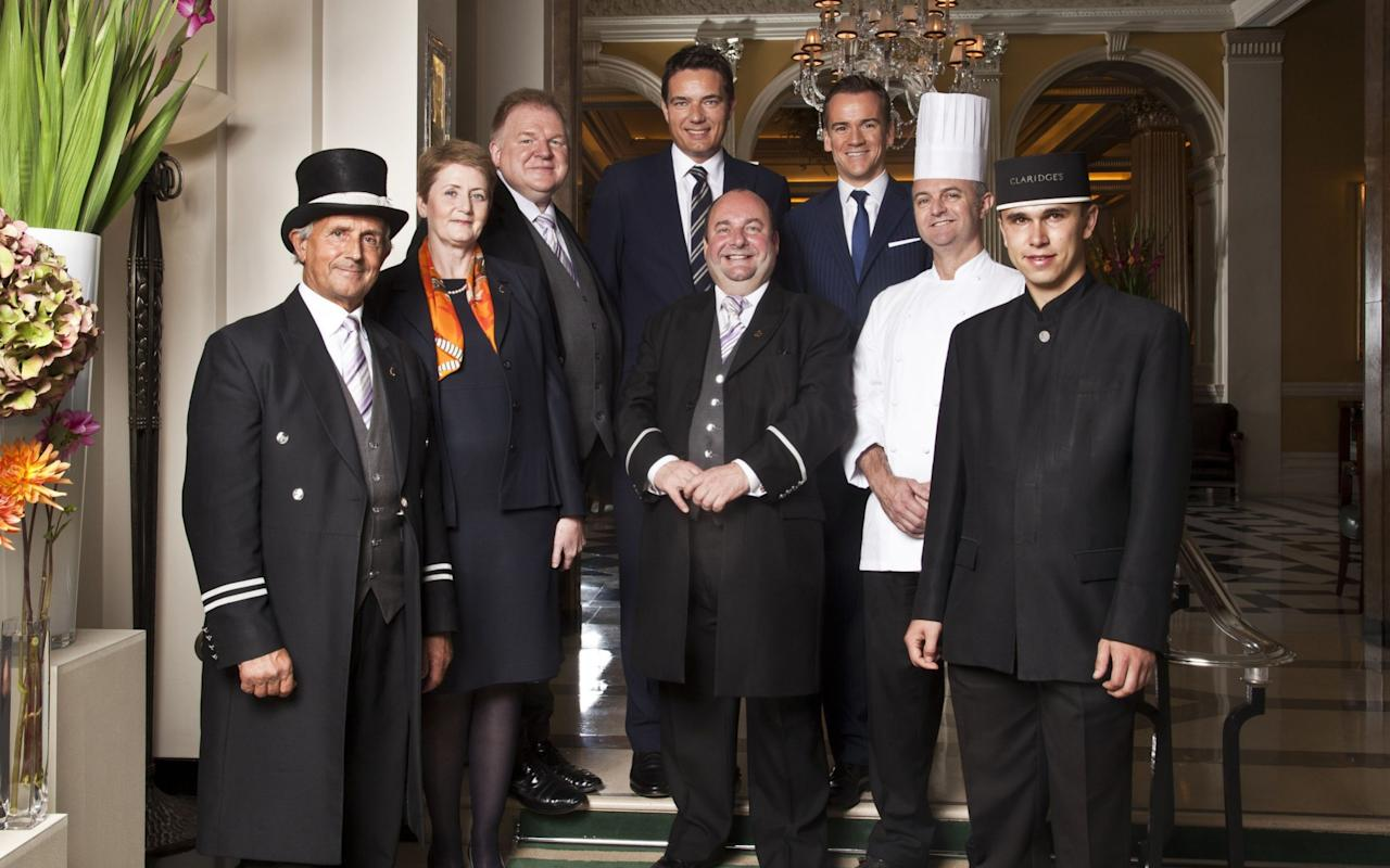 """The head concierge at Claridge's hotel has revealed how he recently secured tickets for a group of guests desperate to see a show by getting fake press passes made for them. Martin Ballard has worked at the exclusive London establishment for 37 years.Known as """"Mr Fixit"""" and """"Lord of the Lobby"""", he is regularly asked by guests - who pay up to £8,400 per night if they want to stay in the royal suite at the hotel - for help to improve their stay. """"Whatever our clients want, I make it happen,"""" he disclosed in an interview with The London Magazine. """"That can mean booking flights, getting a BlackBerry fixed, or finding tickets to sold-out shows. """"Audrey Hepburn asked me to get her brother into the opening night of The Phantom of the Opera – tough but I managed it – and this week some clients want to see a show but can only make the press night. I'm getting badges made and they'll make out they're journalists."""" Claridges Front Hall Journalists are sometimes offered tickets to shows for free, or may get exclusive access to a show before tickets are available to the public for the purposes of reviewing. Mr Ballard, the son of a London taxi driver, also said knowing the city """"inside out"""" allows him to recommend places to visit, though sometimes he has to admit defeat when dealing with clients' more outlandish demands. """"I love being able to give guests the inside track. I often recommend smaller museums such as the Sir John Soane's – it has plans of what London would look like if we hadn't spent so much money fighting France,"""" he said. """"The requests never cease to shock me. One client wanted to land a helicopter in the middle of Wimbledon. """"It's one of the few times I've had to say no – I live there and knew it wasn't possible. But on my way home that night I saw a helicopter land in the playground of King's College School. The client laughed at me and said I was losing my juice."""" Though London is """"food capital of Europe"""" he said """"the most romantic dinner in London is Claridge"""