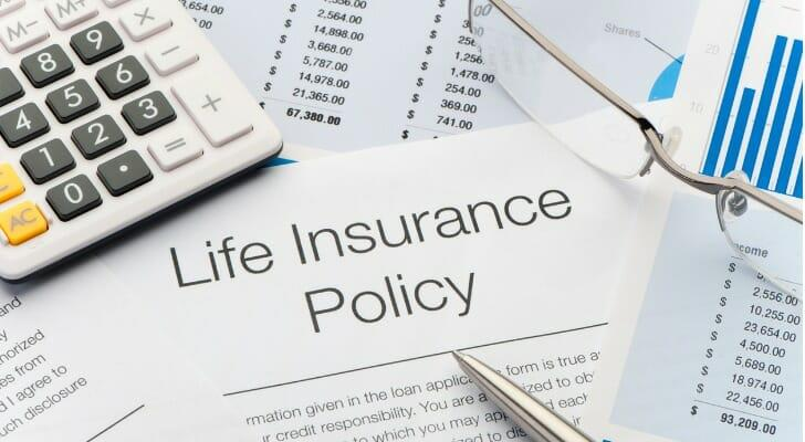 Copy of life insurance policy