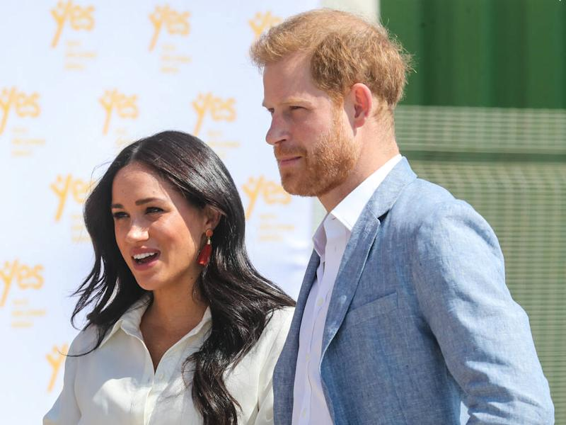 Prince Harry and Meghan, Duchess of Sussex launch new website