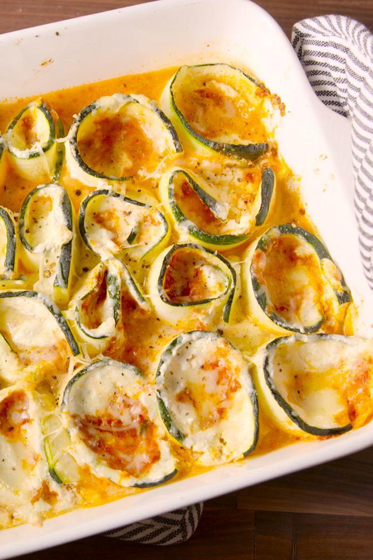"<p>Your low-carb lasagna dreams have come true.</p><p>Get the recipe from <a href=""https://www.delish.com/cooking/recipe-ideas/recipes/a47882/zucchini-lasagna-roll-ups-recipe/"" rel=""nofollow noopener"" target=""_blank"" data-ylk=""slk:Delish"" class=""link rapid-noclick-resp"">Delish</a>.</p>"