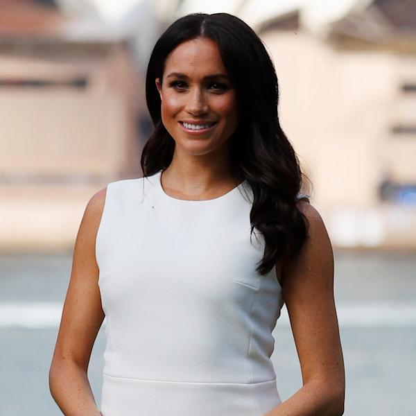 The Duchess of Sussex, Meghan Markle, dressed the bump and kicked off her tour of the Southern hemisphere.