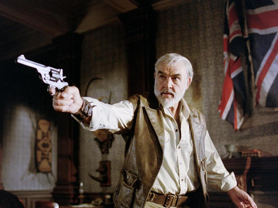 Sean Connery in 2003 flop 'The League of Extraordinary Gentlemen'Rex Features