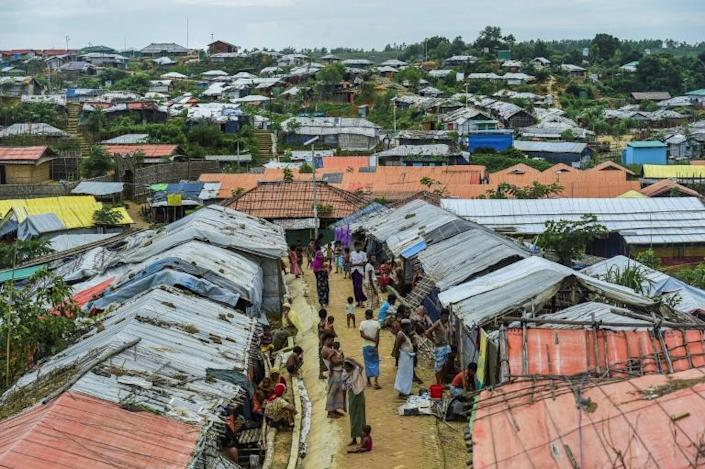 Many of the 700,000-plus Rohingya who fled a military crackdown in Myanmar in 2017 have tried to leave overcrowded refugee camps in Bangladesh (AFP Photo/MUNIR UZ ZAMAN)