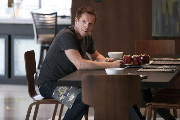 "Damian Lewis in ""Homeland"""