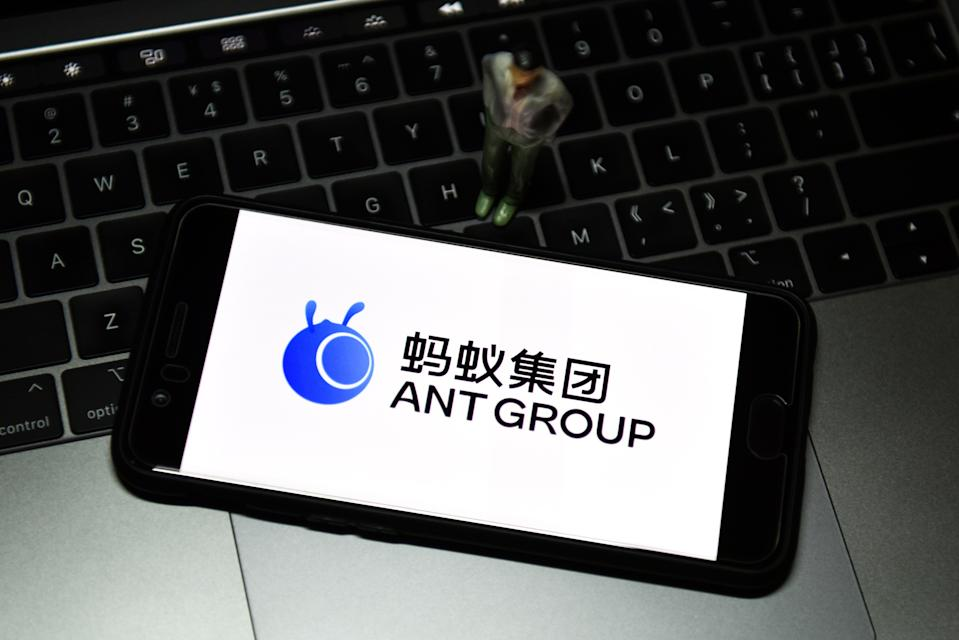 Ant's listing, backed by Chinese e-commerce giant Alibaba could have raised as much as $37bn. Photo: Sheldon Cooper/SOPA/LightRocket via Getty