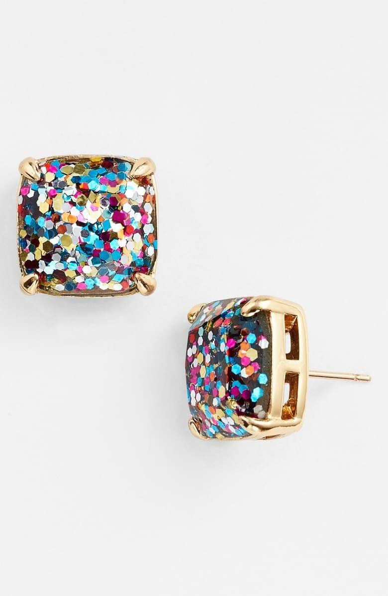 <p>These <span>Kate Spade New York Glitter Stud Earrings</span> ($38) are bestsellers.</p>