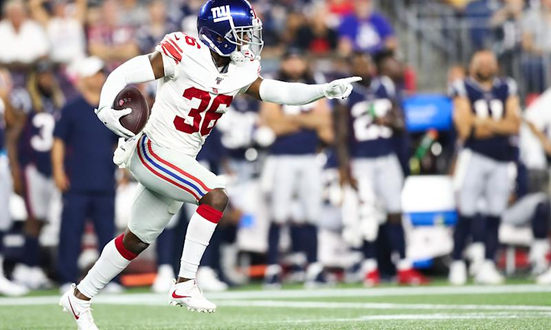 Giants promote DBs Sean Chandler, Ryan Lewis to active roster