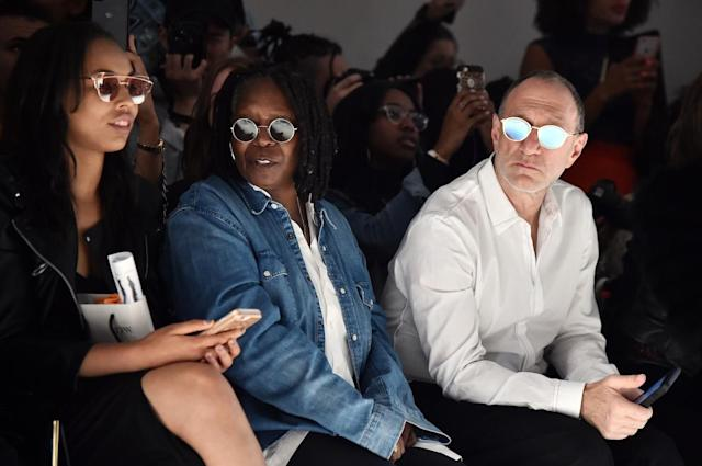 <p>Whoopi Goldberg attends the Vivienne Hu fashion show during New York Fashion Week: The Shows at Gallery 3, Skylight Clarkson Sq on September 10, 2017 in New York City. (Photo by Theo Wargo/Getty Images for Vivienne Hu) </p>