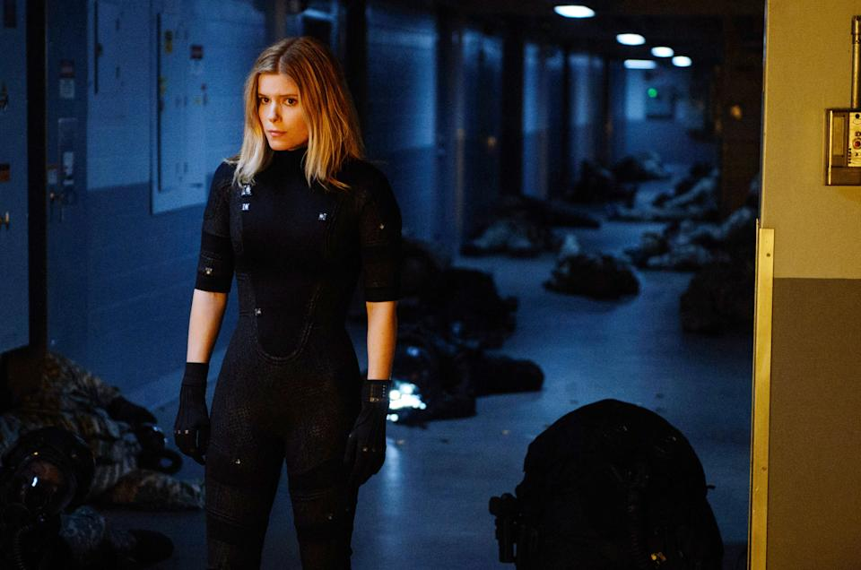 Kate Mara as Sue Storm in the 2015 version of 'Fantastic Four' (Photo:  Ben Rothstein/20th Century Fox Film Corp./Courtesy Everett Collection