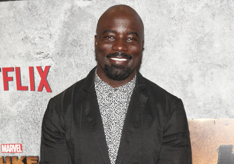 "FILe - In this June 21, 2018 file photo, Mike Colter attends the premiere of the Netflix original series Marvel's ""Luke Cage"" season two at The Edison Ballroom in New York. The Marvel universe just got a slice smaller on Netflix with the cancellation of ""Marvel's Luke Cage"" after two seasons.  The news Friday, Oct. 20,  surprised fans and came a few weeks after Netflix axed another live-action Marvel series, ""Iron Fist."" Both are part of The Defenders world.   (Photo by Andy Kropa/Invision/AP, File )"