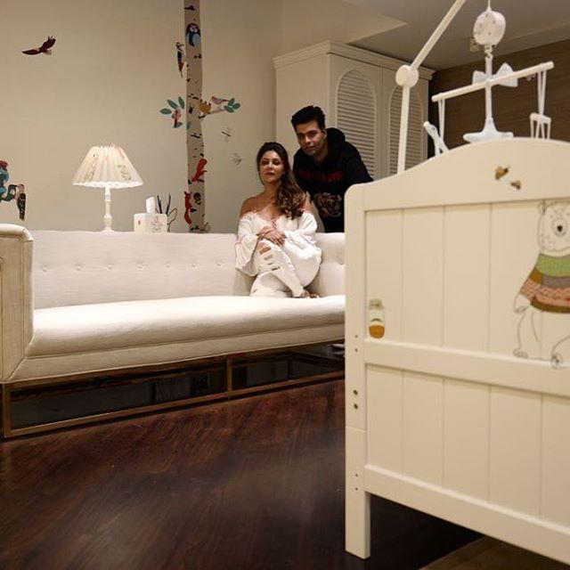 Karan Johar and Gauri Khan