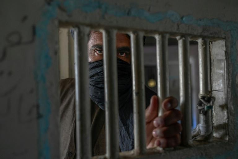 Construction of Afghanistan's largest prison began in the 1970s and it has been criticised by human rights groups over squalid and cramped conditions (AFP/BULENT KILIC)