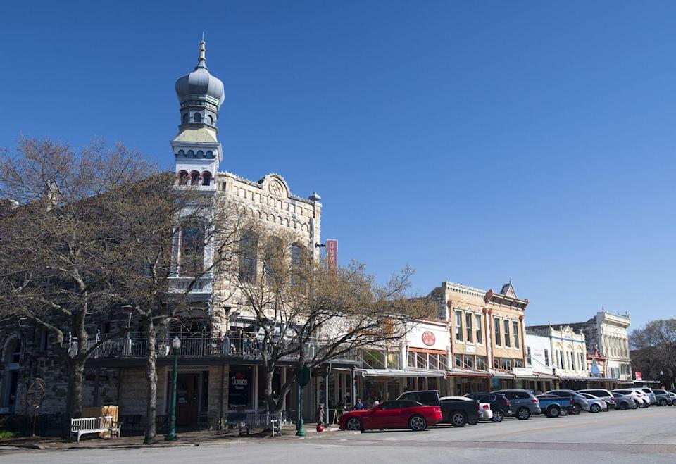 "<p>Georgetown is known for having the ""most beautiful town square in Texas."" </p>"