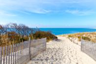 <p><strong>Best camping in Delaware:</strong> Cape Henlopen State Park</p> <p>Sink your toes into the sand at this 7,000-acre oceanfront campsite. Beloved by fishers and stand-up paddleboarders alike, the newly renovated campground offers amenities galore (like laundry and a camp store) while providing easy access to the park's beaches, historic Fort Miles Museum, and tidal salt marshes.</p>
