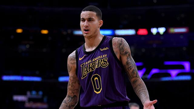 Kyle Kuzma will not be suiting up for the Los Angeles Lakers in their season-opening game on Tuesday.