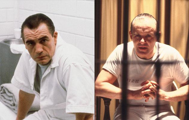 """""""The Silence of the Lambs"""" — While Welshman Anthony Hopkins may have won an Academy Award for his spine-tingling portrayal of serial killer Hannibal Lecter in 1991's """"The Silence of the Lambs,"""" he wasn't the first actor to play the cannibal psychiatrist on the big screen. Adapted from the Thomas Harris novels, """"Lambs"""" is actually a sequel to Michael Mann's 1986 film """"Manhunter,"""" starring Brian Cox as the genius psychopath and """"CSI's"""" William Petersen as FBI profiler Will Graham. """"Manhunter"""" was remade in 2001 as """"Red Dragon,"""" with Hopkins reprising the flesh-eating role that made him famous."""