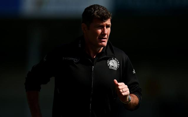 <span>Rob Baxter, head coach of Exeter Chiefs</span> <span>Credit: Getty Images </span>