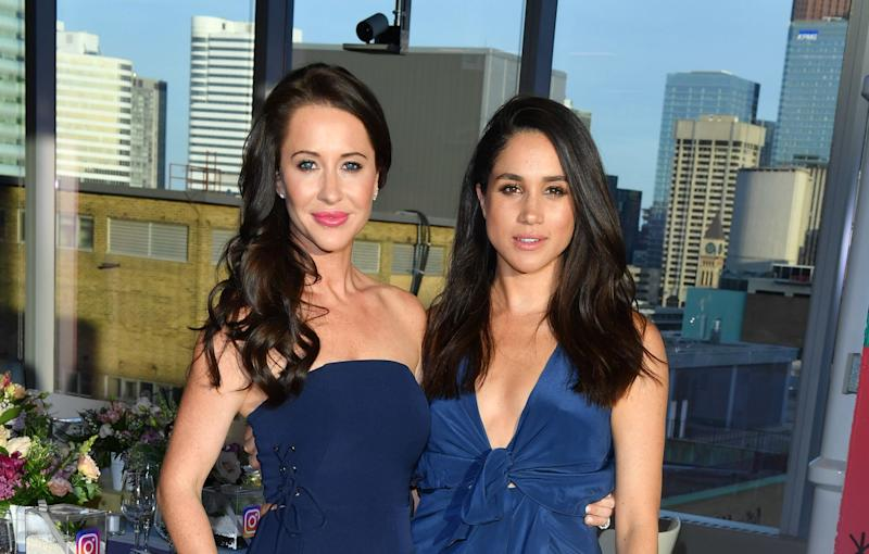 Jessica Mulroney and the Duchess of Sussex have been friends for years. (Photo: George Pimentel via Getty Images)