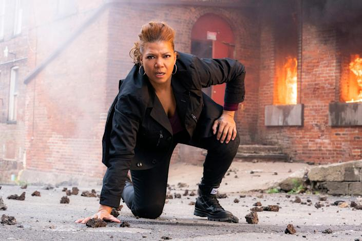 """Queen Latifah as Robyn McCall in """"The Equalizer."""""""